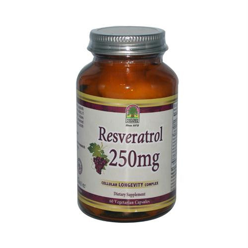 Natures Answer Resveratrol - 250 mg - 60 Vegetarian Capsules