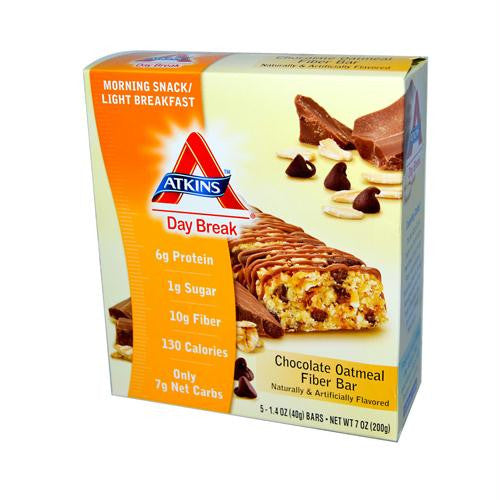 Atkins Day Break Bar Chocolate Oatmeal - 5 Bars