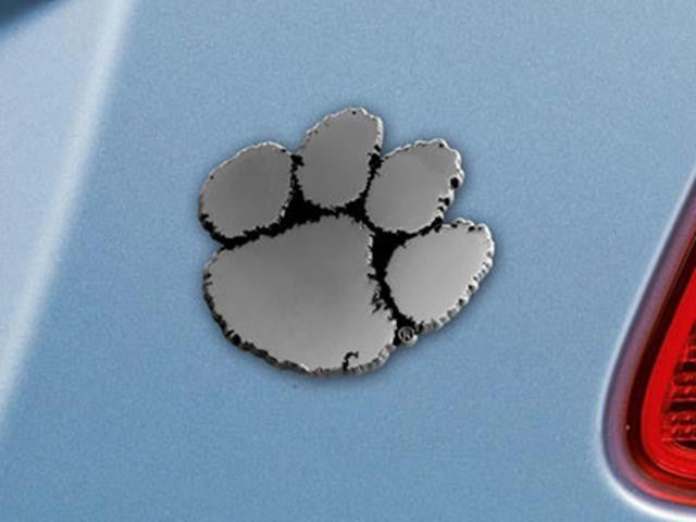 FanMats Clemson Vehicle Emblem 3x3.2