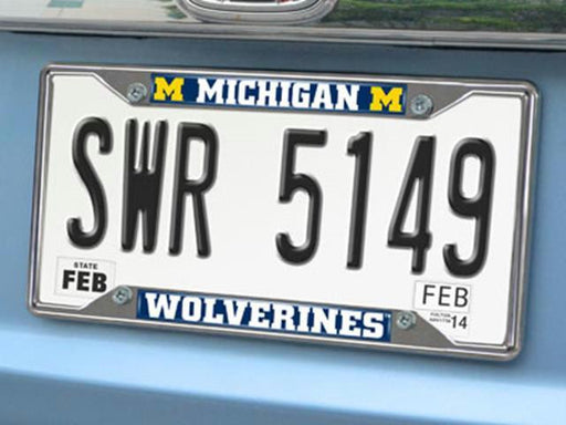 FanMats Michigan License Plate Frame 6.25x12.25