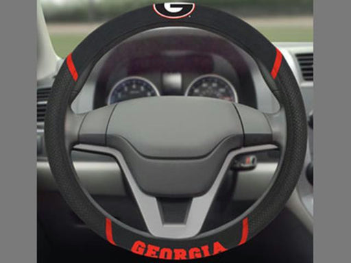 FanMats Georgia Steering Wheel Cover 15x15