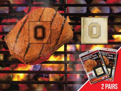 FanMats Ohio State University  Grilling Fanbrand 2 Pack