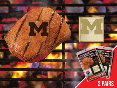 FanMats University of Michigan  Grilling Fanbrand 2 Pack