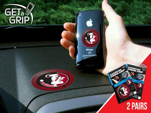 FanMats Florida State University Cell Phone Get a Grip 2 Pack