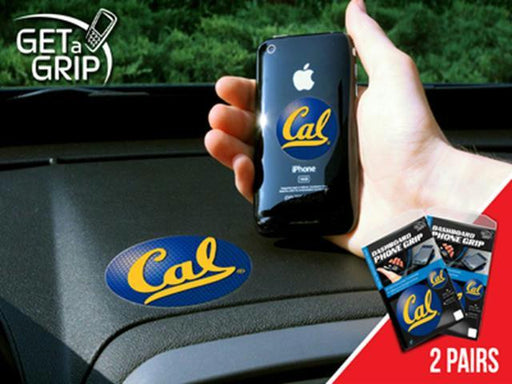FanMats California - Berkeley UC University of Cell Phone Get a Grip 2 Pack