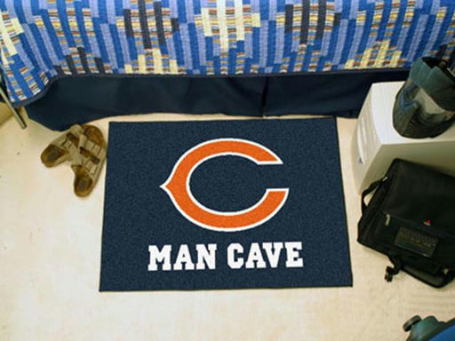FanMats  NFL - Chicago Bears Man Cave Starter Rug 19x30