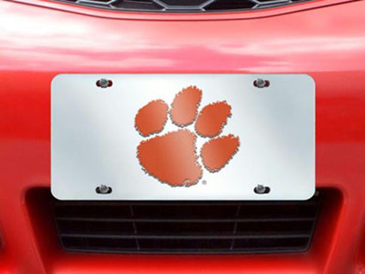 FanMats Clemson License Plate Inlaid 6x12