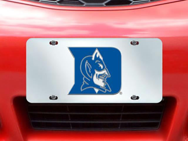 FanMats Duke University License Plate Inlaid 6x12
