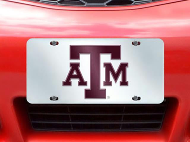 FanMats Texas A&M License Plate Inlaid 6x12