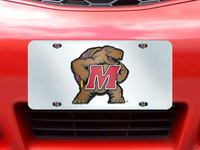 FanMats Maryland License Plate Inlaid 6x12