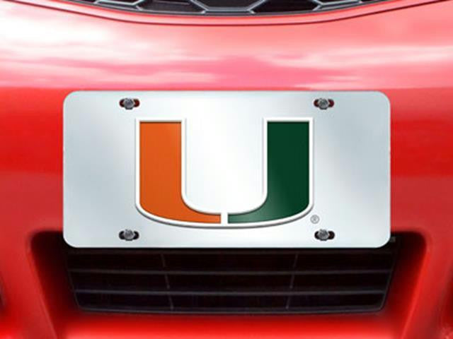 FanMats Miami License Plate Inlaid 6x12