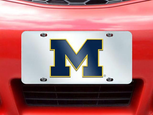 FanMats Michigan License Plate Inlaid 6x12