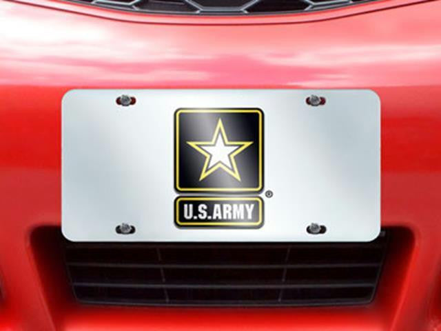 FanMats Army License Plate Inlaid 6x12