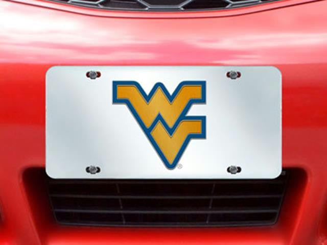 FanMats West Virginia License Plate Inlaid 6x12
