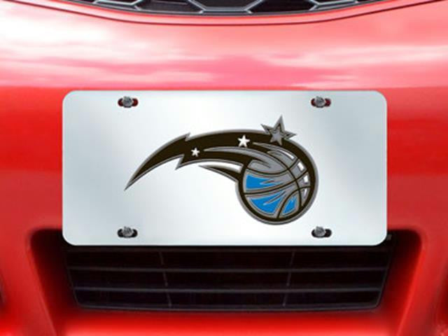 FanMats NBA-Orlando Magic License Plate Inlaid 6x12
