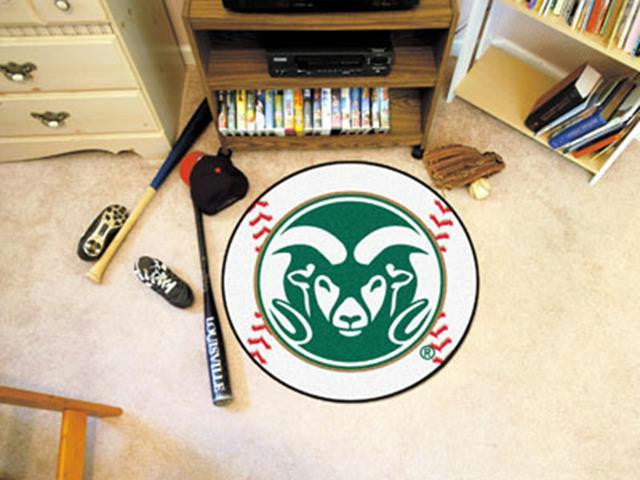 FanMats Colorado State University Baseball Mat 26 diameter