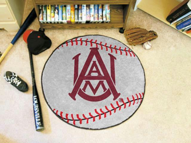 FanMats Alabama A&M University Baseball Mat 26 diameter