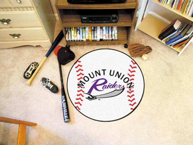 FanMats Mount Union Baseball Mat 26 diameter