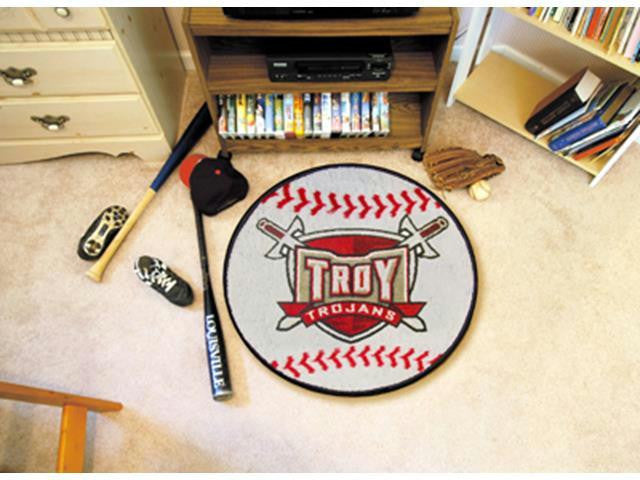 FanMats Troy University Baseball Mat 26 diameter