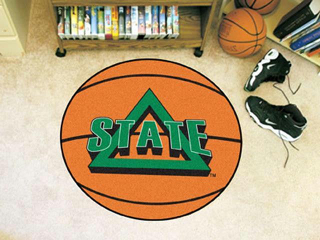 FanMats Delta State University Basketball Mat 26 diameter