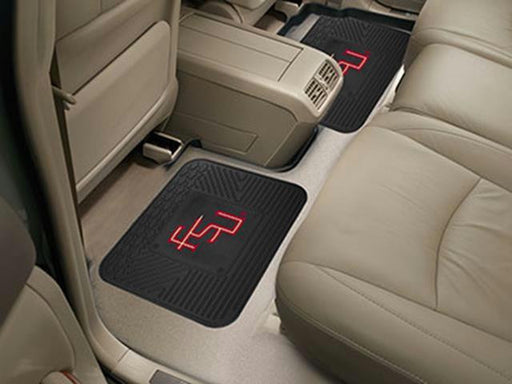 FanMats Florida State University  Backseat Utility Mats 2 Pack 14x17