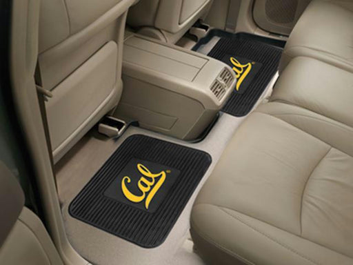 FanMats California - Berkeley UC University of  Backseat Utility Mats 2 Pack 14x17