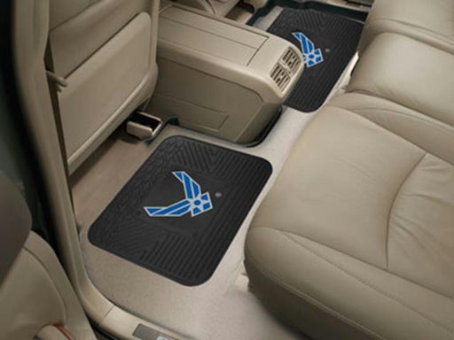 FanMats Air Force Backseat Utility Mat 2 Pack 14x17