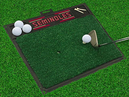 FanMats Florida State University Golf Hitting Mat 20 x 17