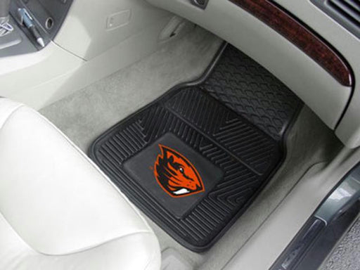 FanMats Oregon State 2-pc Vinyl Car Mat Set