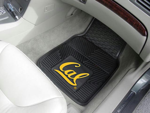 FanMats California - Berkeley UC University of 2-pc Vinyl Car Mat Set