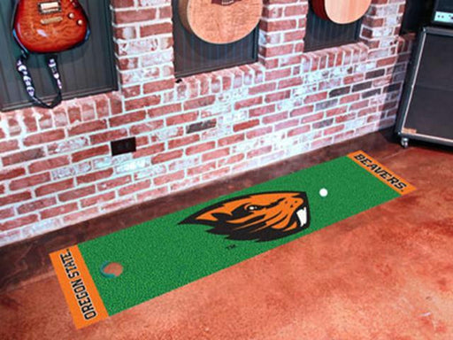 FanMats Oregon State Putting Green Mat