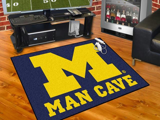 FanMats  University of Michigan  Man Cave All-Star Mat 34x45