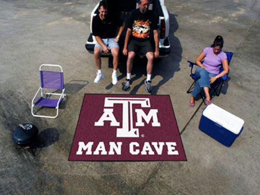 FanMats  Texas A&M University  Man Cave Tailgater Rug 60x72