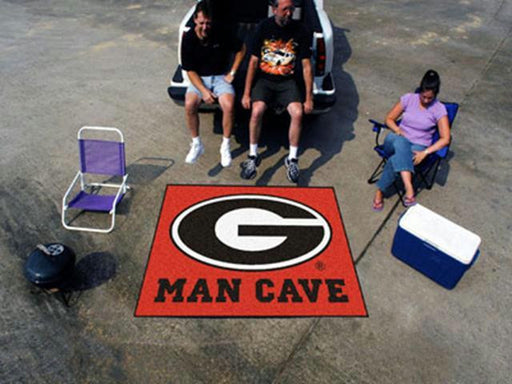 FanMats  University of Georgia  Man Cave Tailgater Rug 60x72