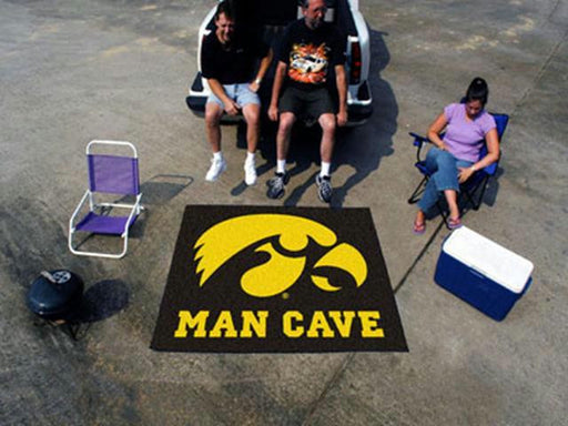 FanMats  University of Iowa  Man Cave Tailgater Rug 60x72