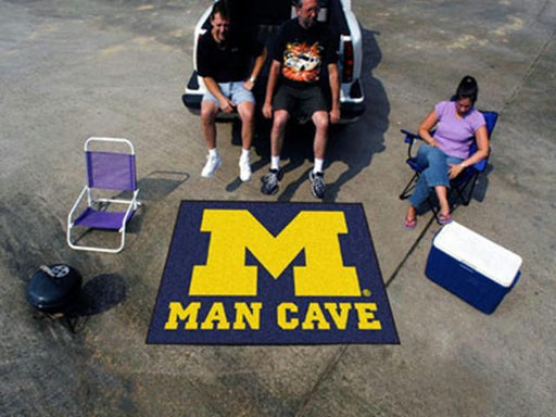 FanMats  University of Michigan  Man Cave Tailgater Rug 60x72