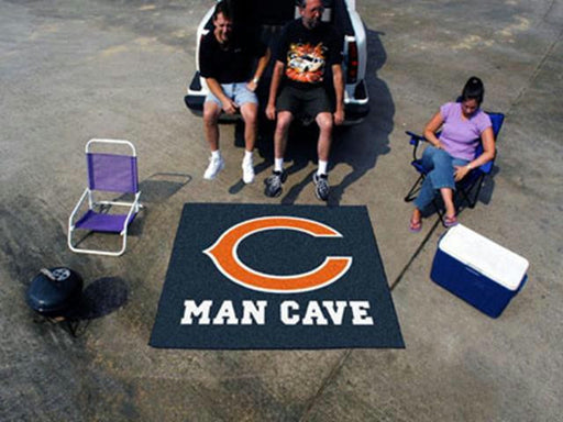FanMats  NFL - Chicago Bears Man Cave Tailgater Rug 60x72