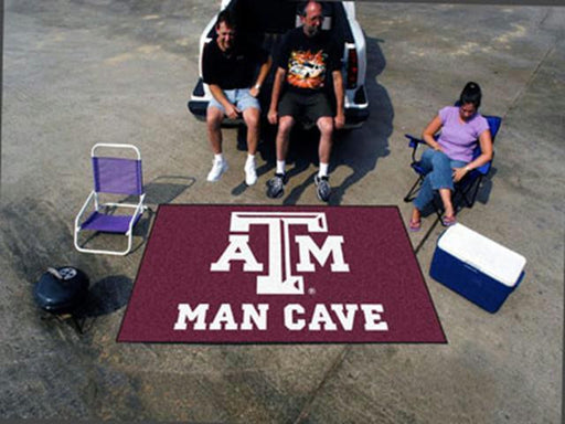 FanMats  Texas A&M University  Man Cave UltiMat Rug 60x96