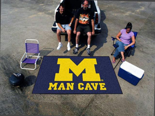 FanMats  University of Michigan  Man Cave UltiMat Rug 60x96