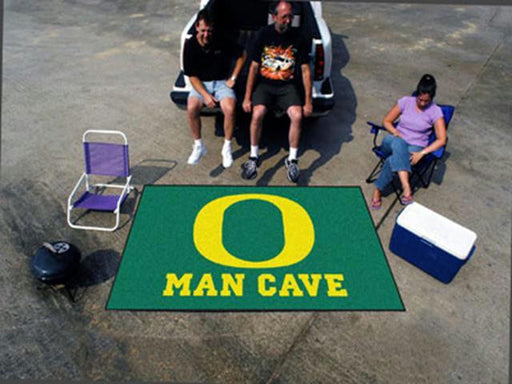 FanMats  University of Oregon  Man Cave UltiMat Rug 60x96