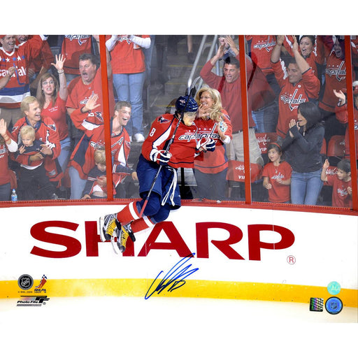 Alexander Ovechkin Washington Capitals Signed Fan Celebration 16x20 Photo (AJ Sports Auth)