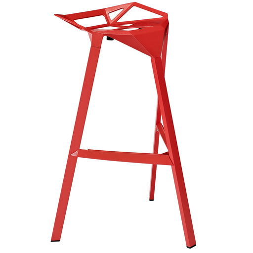 Launch Stacking Bar Stool 1024-RED