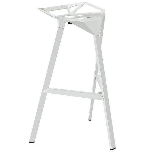 Launch Stacking Bar Stool 1024-WHI