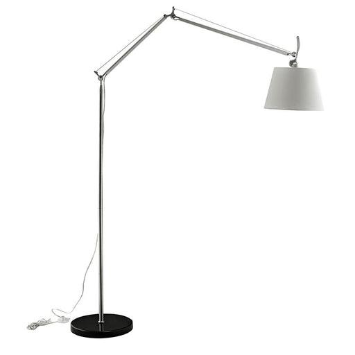 Reflect Aluminum Floor Lamp 1217-BLK