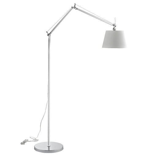 Reflect Aluminum Floor Lamp 1217-SLV