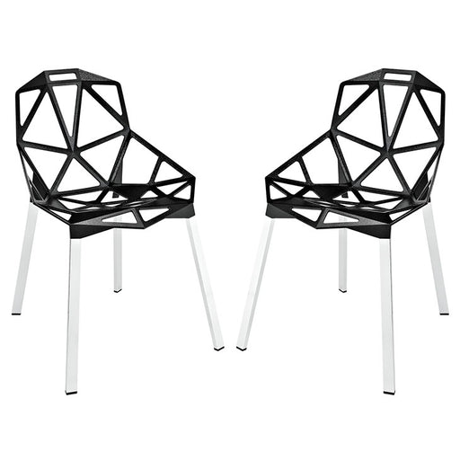 Connections Dining Chair Set of 2 1358-BLK
