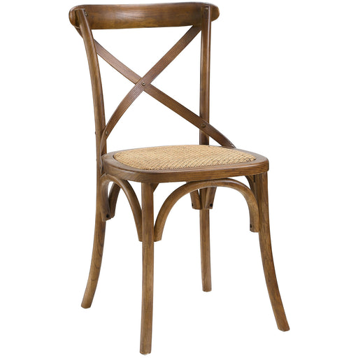 Gear Dining Side Chair 1541-WAL