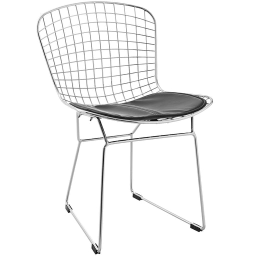 CAD Dining Side Chair 161-BLK