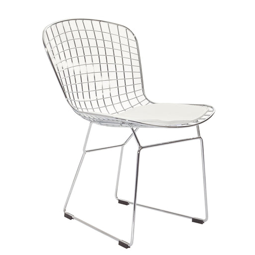 CAD Dining Side Chair 161-WHI