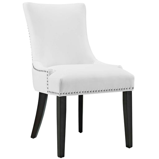 Marquis Faux Leather Dining Chair 2228-WHI